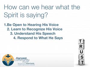 4 tips I've learned to hear the Spirit speak
