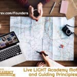 Motto and guiding principles of Live LIGHT Academy