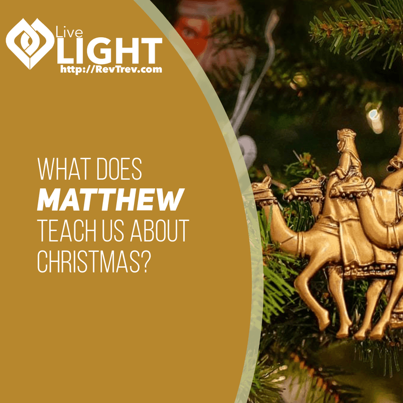 What does Matthew teach us about Christmas?